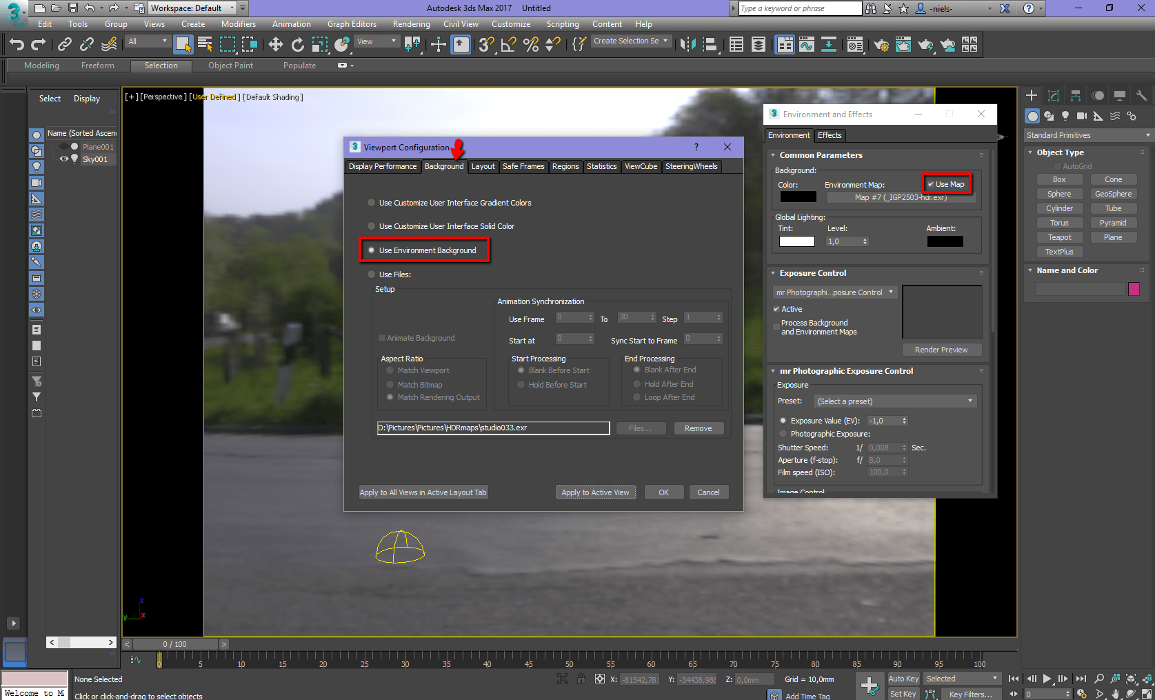 HDR in 3ds max 2017 - Autodesk Community