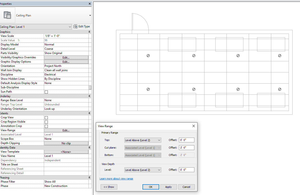 solved procedure to show floor plan as rcp underlay autodesk community revit products [ 1261 x 819 Pixel ]