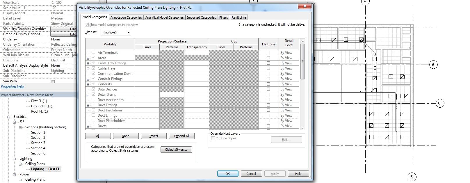 medium resolution of revit mep view templates issues 3 jpg