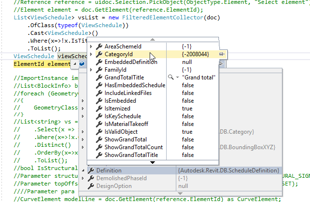 Revit Lookup problem with CategoryId - Autodesk Community