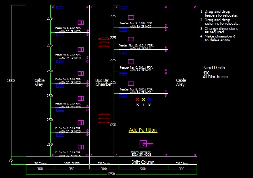 How to create a Panel General Arrangement Drawing in