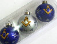 Masonic Christmas Tree Decorations Amp Greetings Cards