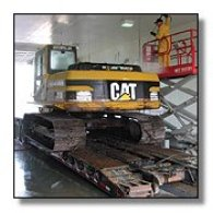 Picture of Detailing A Cat Excavator