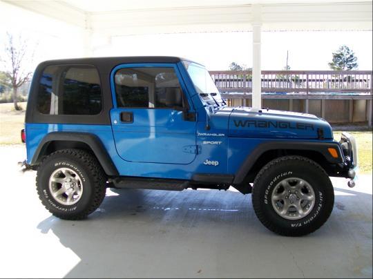 2003 Jeep Wrangler Vin 1j4fa49sx3p332715 ...