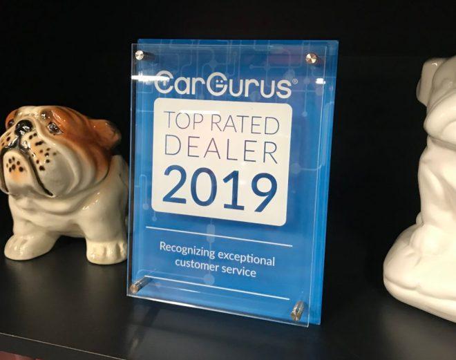 CarGurus 2019 Top Rated Dealer Award