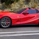 2020 Ferrari 812 Gts V12 Spider Red