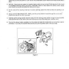 C5 Corvette Power Seat Wiring Diagram Welding Generator Steering Wheels D Shaped Air Bag Removal