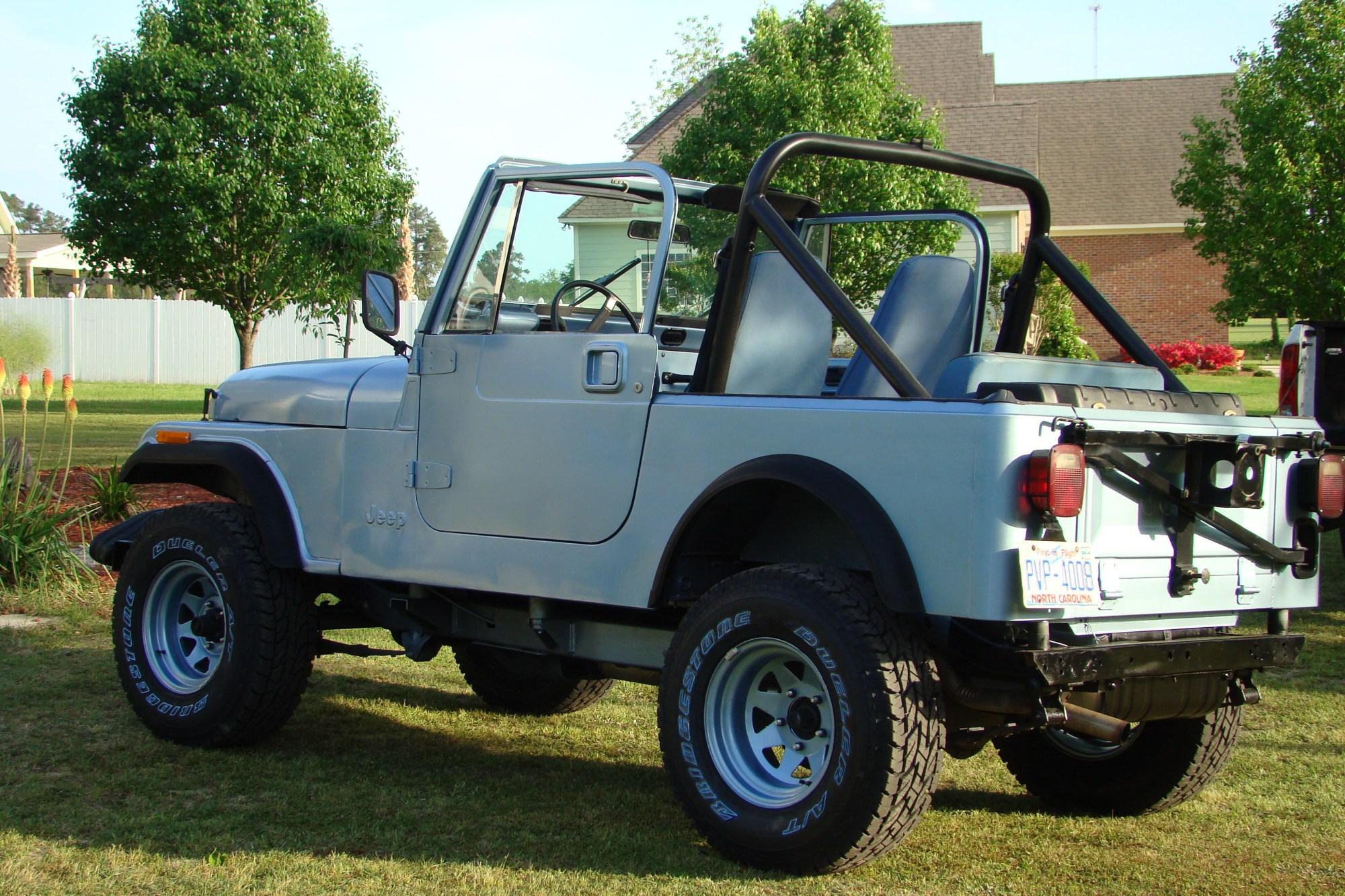 hight resolution of restored 1981 jeep cj7