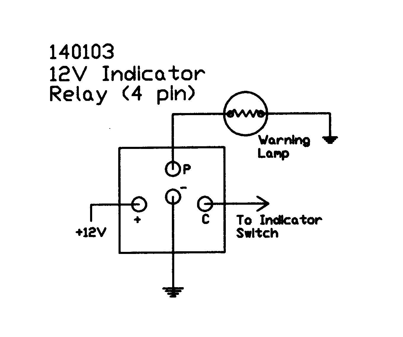 hight resolution of 12v electronic 4 terminallucas flasher wiring diagram 5
