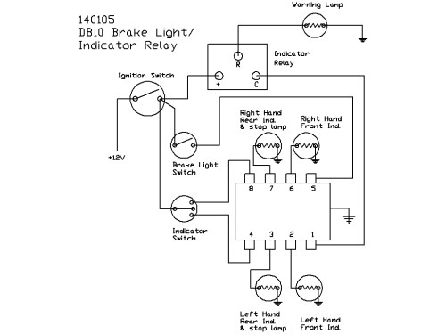 small resolution of lucas db10 style flasher unitflashers for automotive wiring diagrams 12