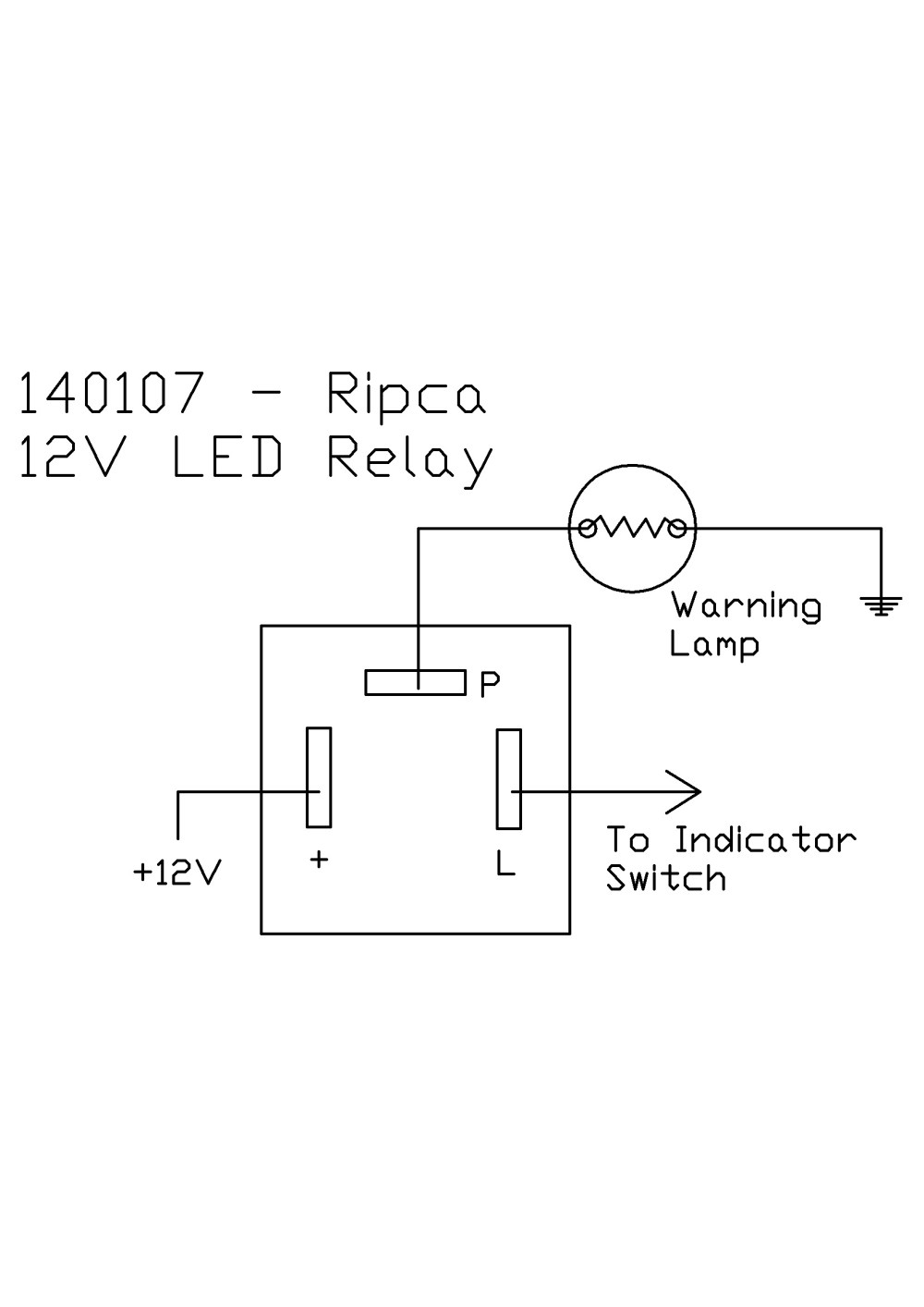 medium resolution of led flasher wiring simple wiring diagram schema farmall h with 6 volt positive ground wiring schematic