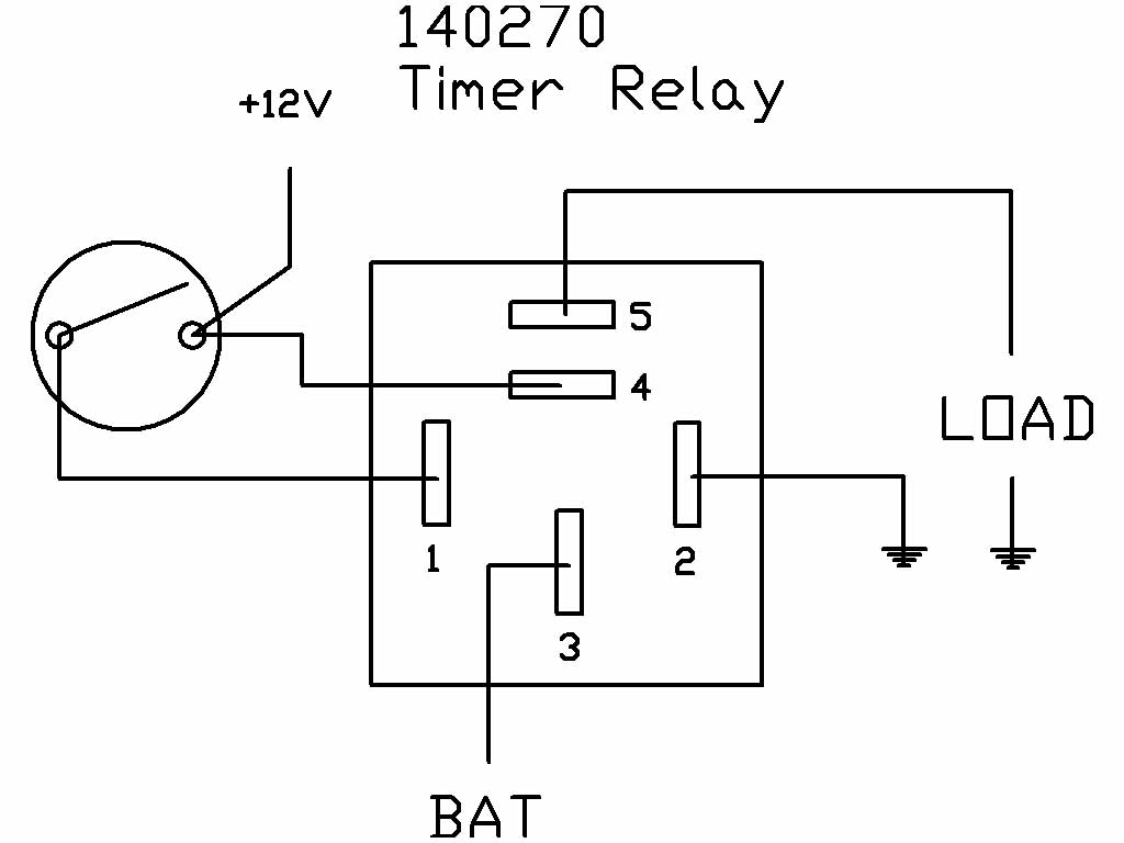 4 pin relay wiring diagram fan how to draw a system timer 10 minutes