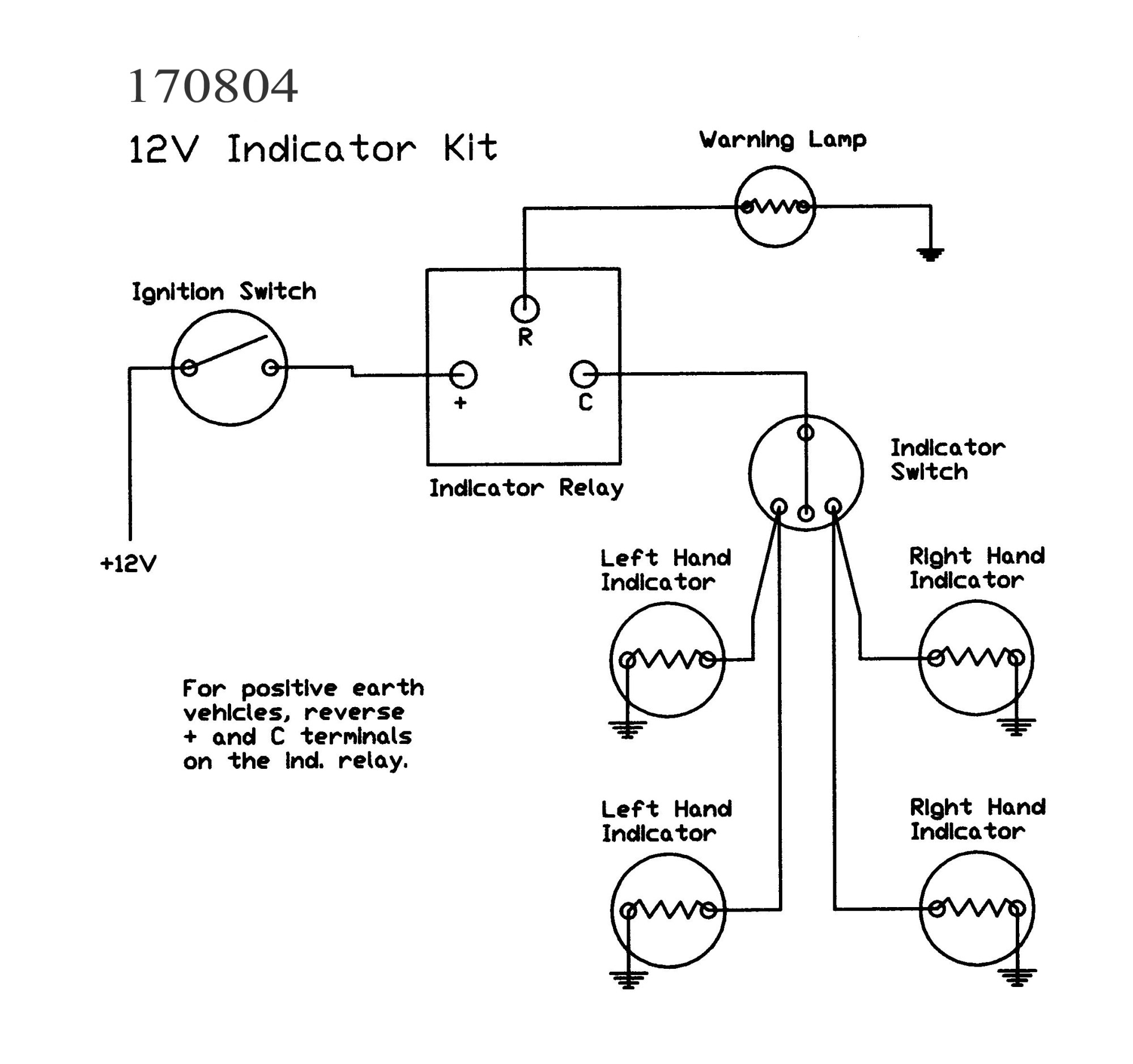 hight resolution of indicator kits without lamps wiring diagram for indicators 170803 jpg 170804 12v
