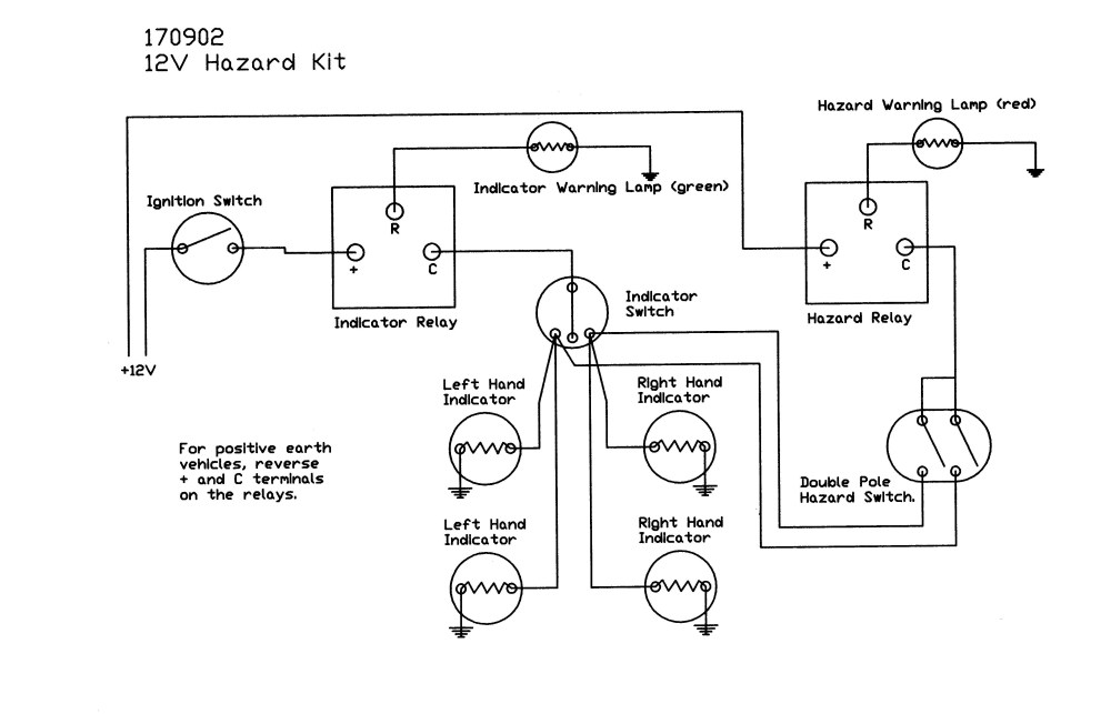 medium resolution of wiring a hazard light switch wiring diagram go hazard switch kits wiring a hazard light switch