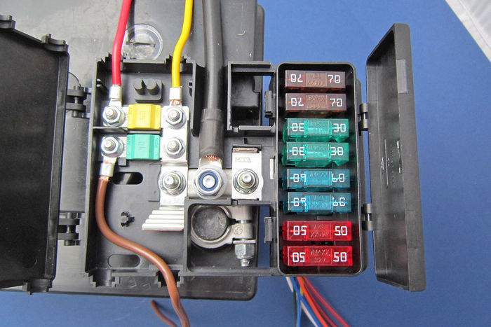 Beetle Fuse Box Location Battery Mounted Fusebox