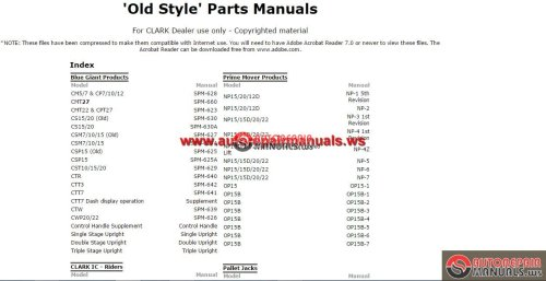 small resolution of crown forklift parts catalog service manual auto repair software auto epc software auto repair manual workshop manual service manual workshop manual