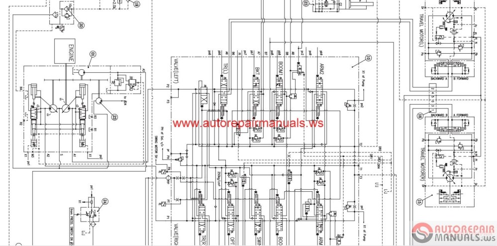 medium resolution of doosan all schematics hydraulic electrical auto repair software doosan all schematics hydraulic electrical auto