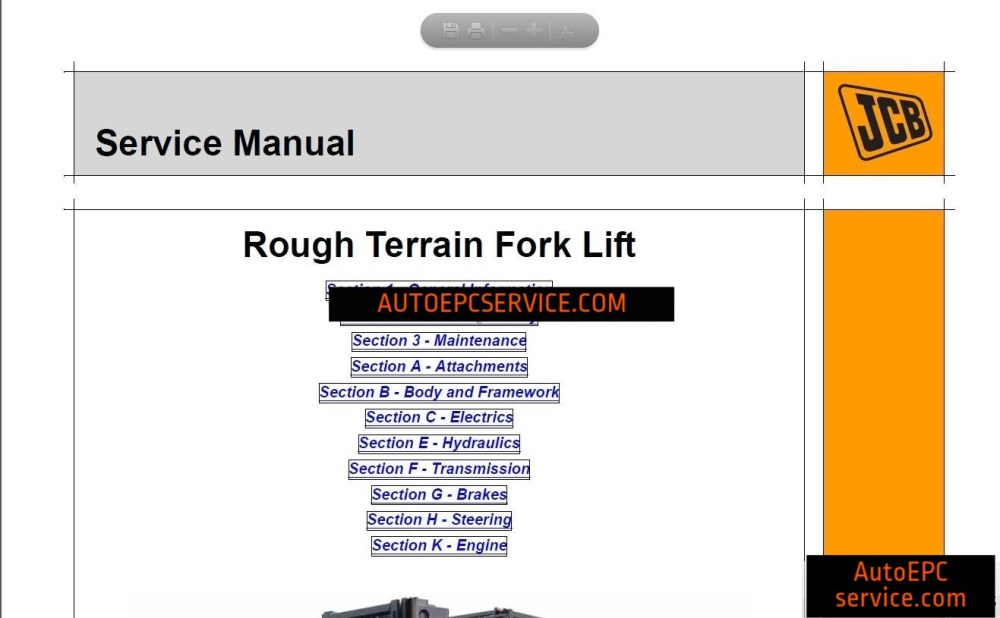 medium resolution of jcb service manual 01 2017 with spp 2 00 auto repair software auto epc software auto repair manual workshop manual service manual workshop manual