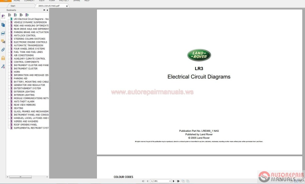 medium resolution of land rover range rover electrical wiring diagram guides 1995 2015 auto repair software auto epc software auto repair manual workshop manual service