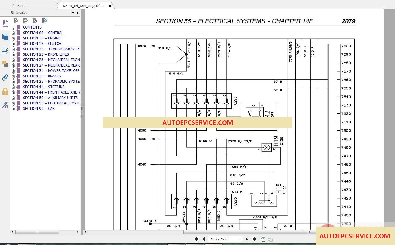 hight resolution of  ls180 wiring diagram new holland all model full dvd service manual auto repair on new