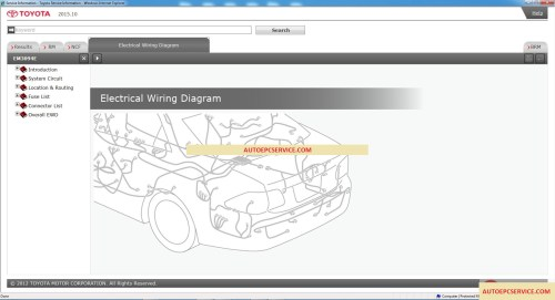small resolution of toyota service manual workshop manual wiring diagram dvd 2014 2018 auto repair software auto epc software auto repair manual workshop manual service