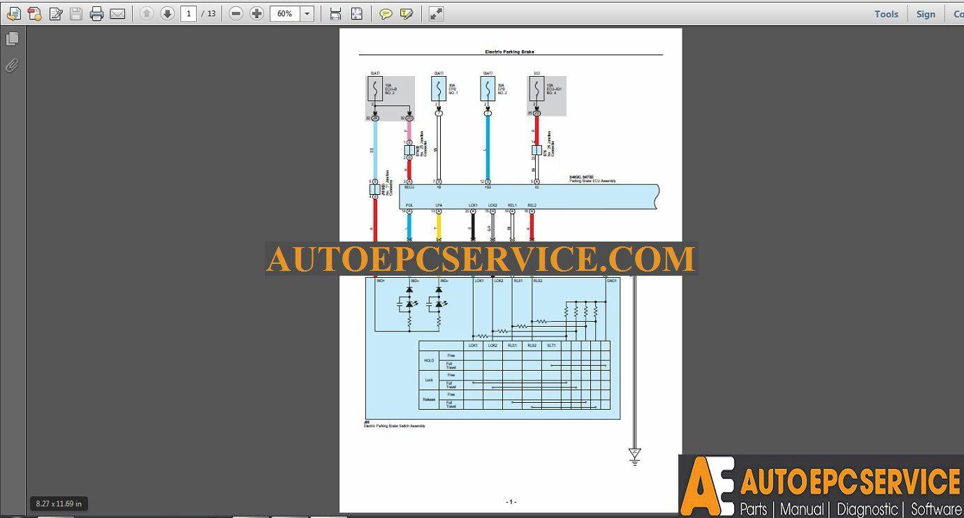 hight resolution of lexus rx450h 2015 10 2016 usa wiring diagram manual auto repair lexus rx450h wiring diagram