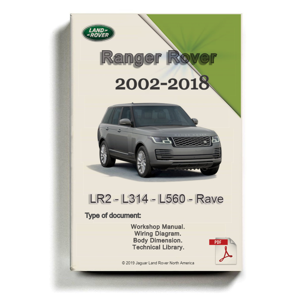 medium resolution of landrover ranger rover 2018 full service manual wiring diagram dvd auto repair software auto epc software auto repair manual workshop manual service