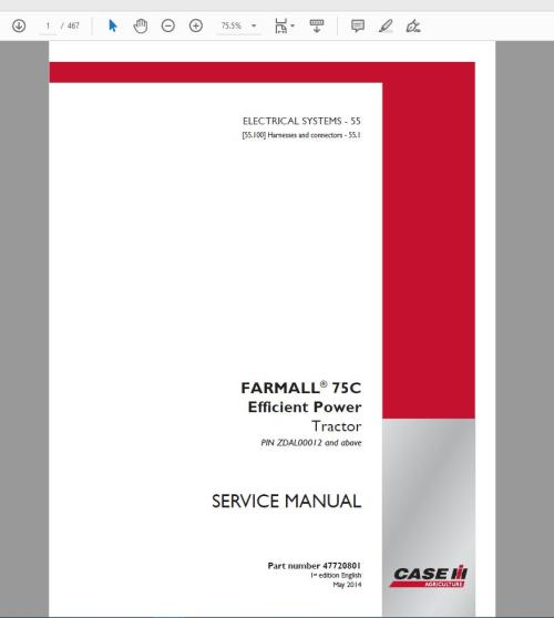 small resolution of case ih agricultural full service manual 2019 150gb