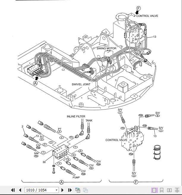 Kobelco Hydraulic Excavator SK80CS-1E (I) Shop Manual