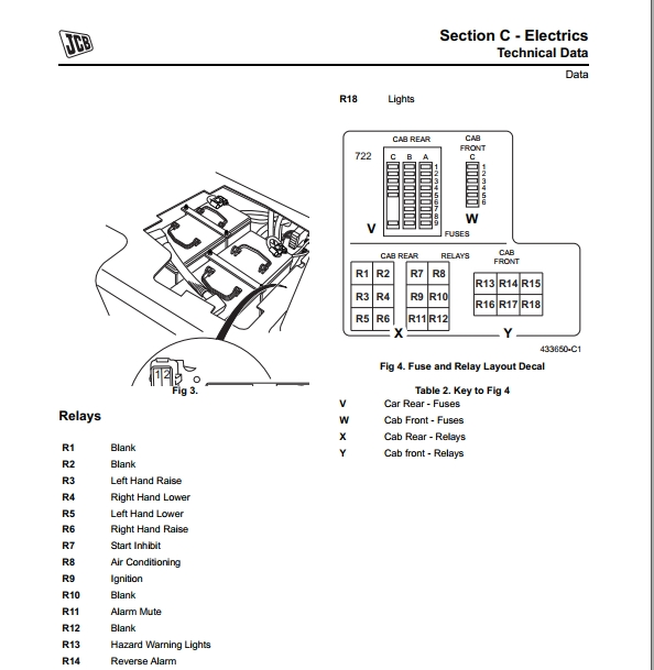 JCB Articulated Dump Trucks 722 Series Service Manual