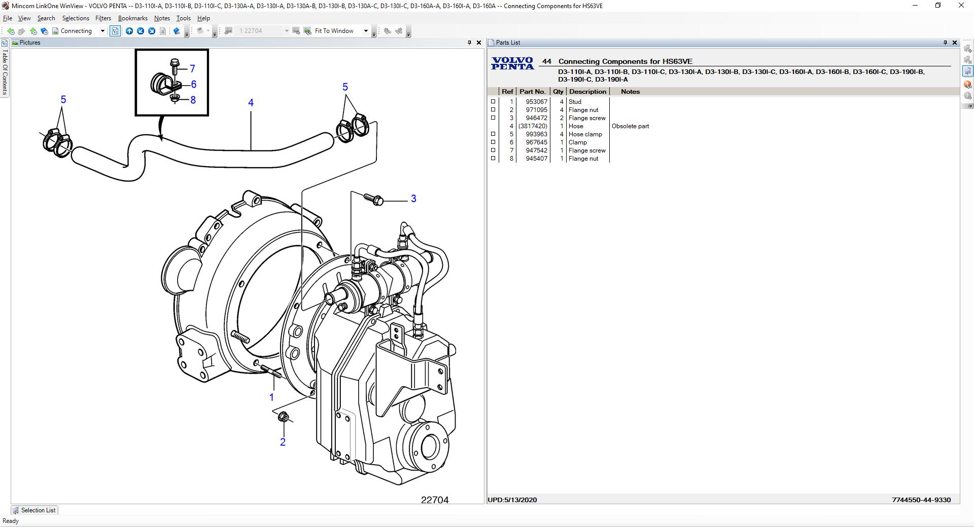 Volvo Penta EPC [06.2020] Marine and Industrial Engine