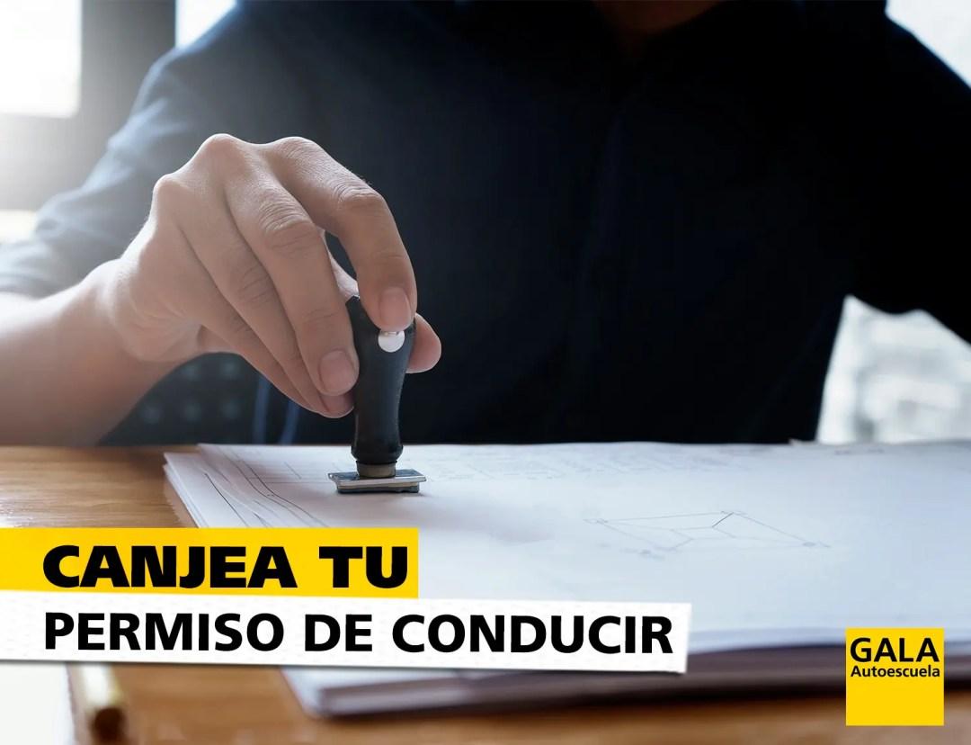 canje-de-permisos-autoescuela-gala