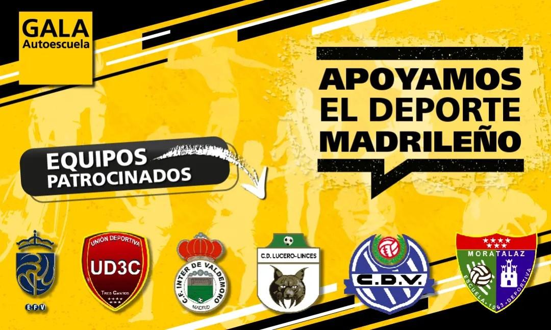 Autoescuela Gala apoya el deporte juvenil madrileño