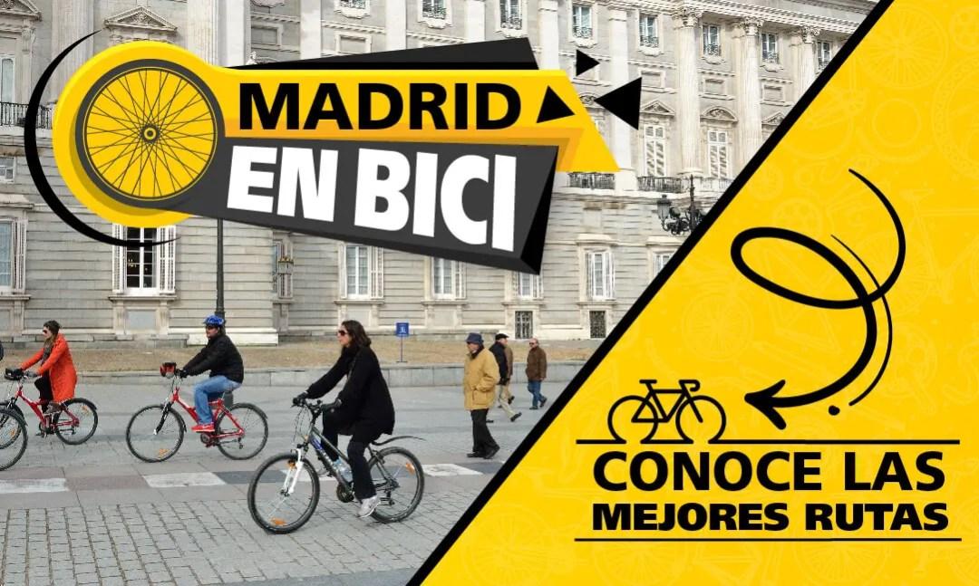Las rutas en bicicleta por Madrid ahora son más fáciles