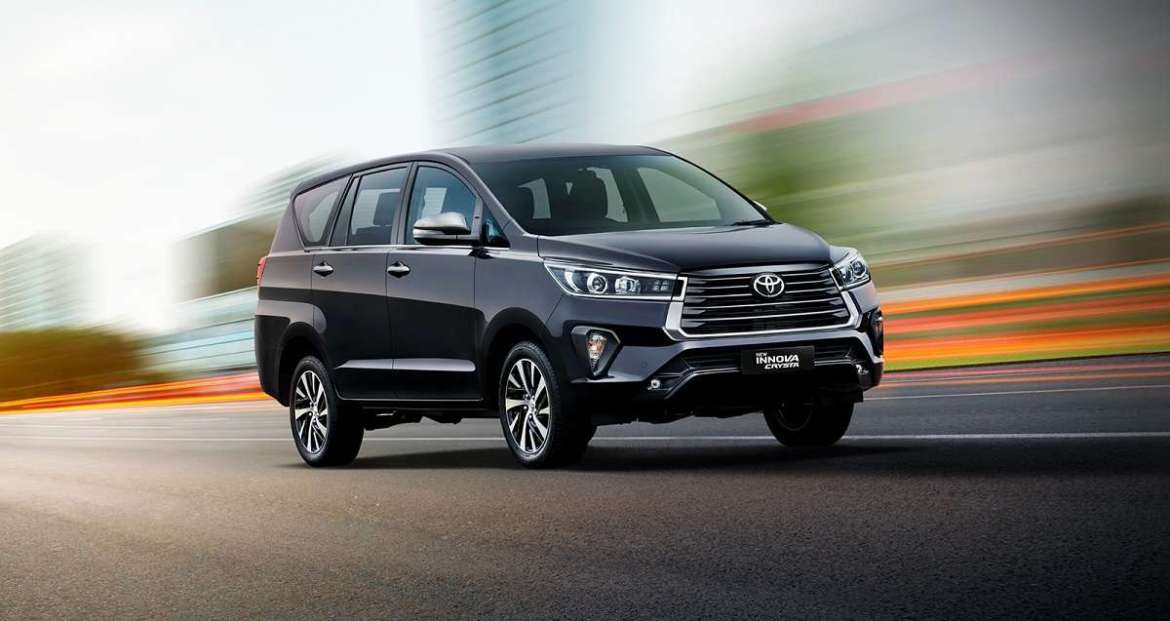 2020 Toyota Innova Crysta facelift gets a refreshing makeover