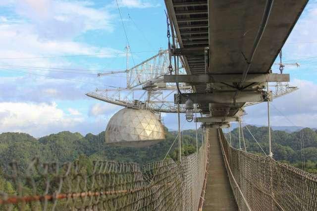 Arecibo Observatory telescope