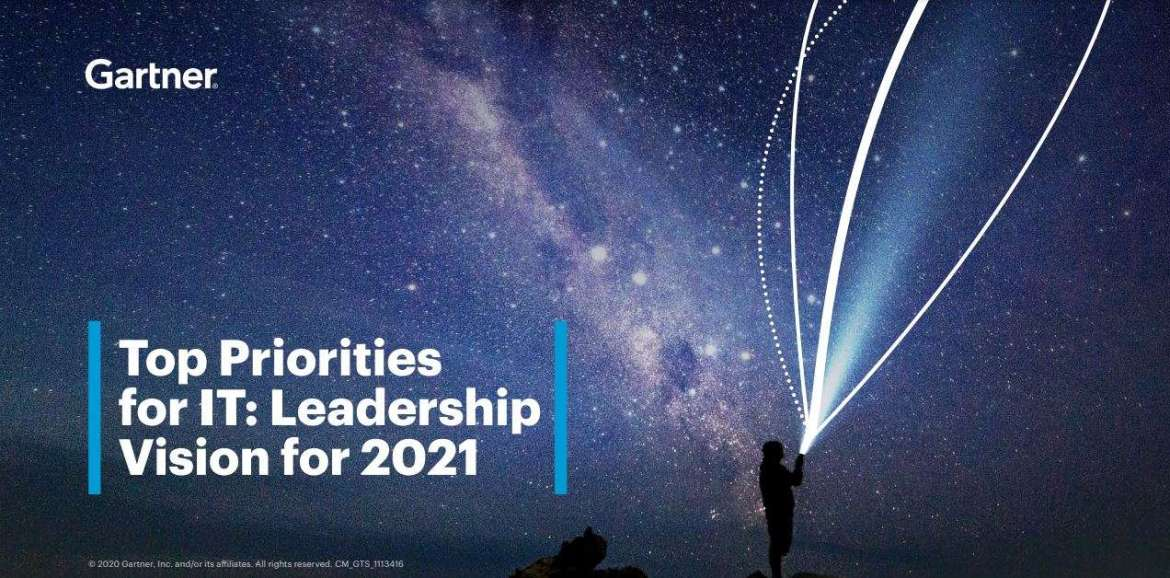 Top priorities for IT: Leadership vision for 2021