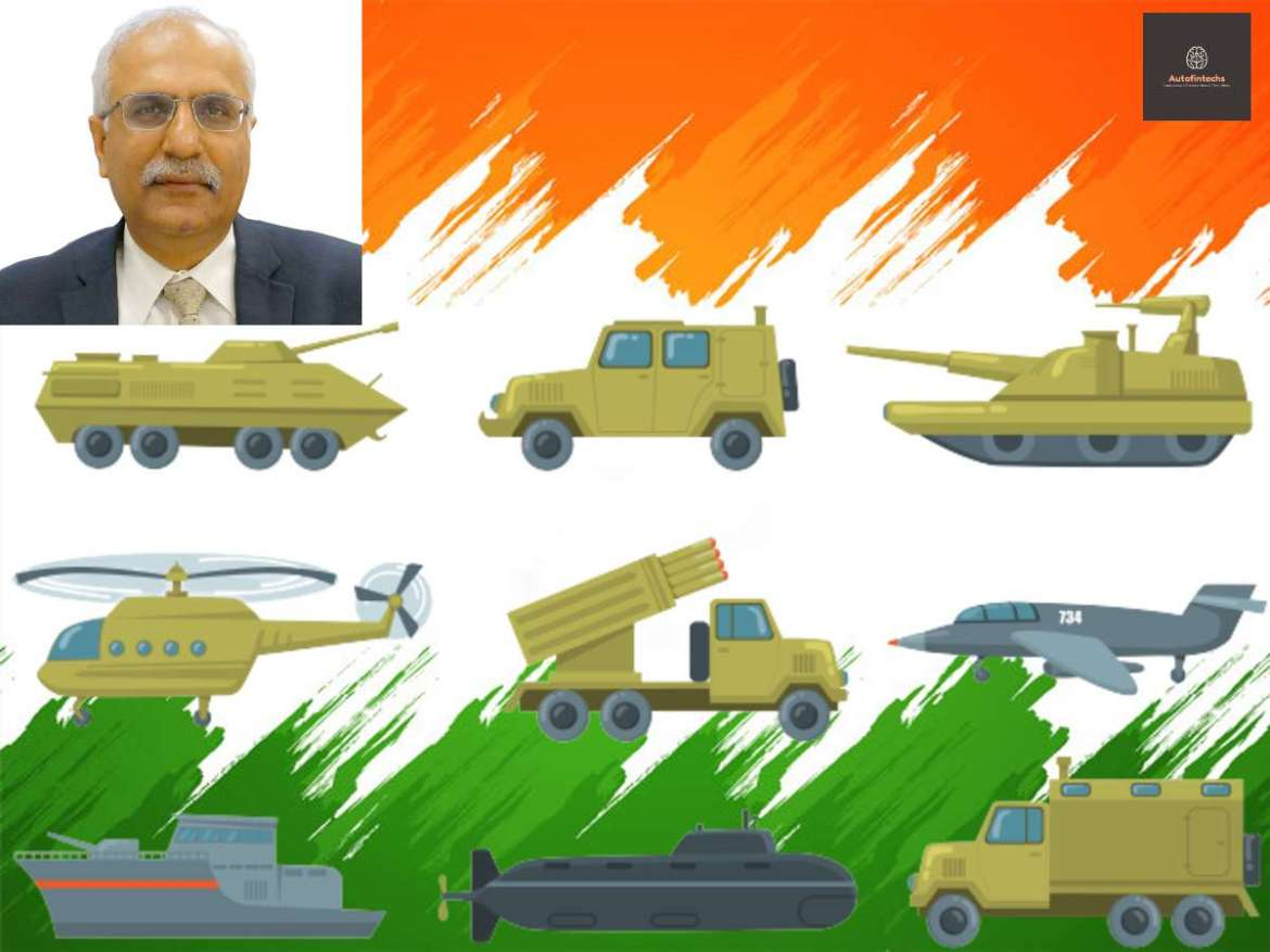 India needs to transform from large importer to major defence manufacturing country and a net exporter