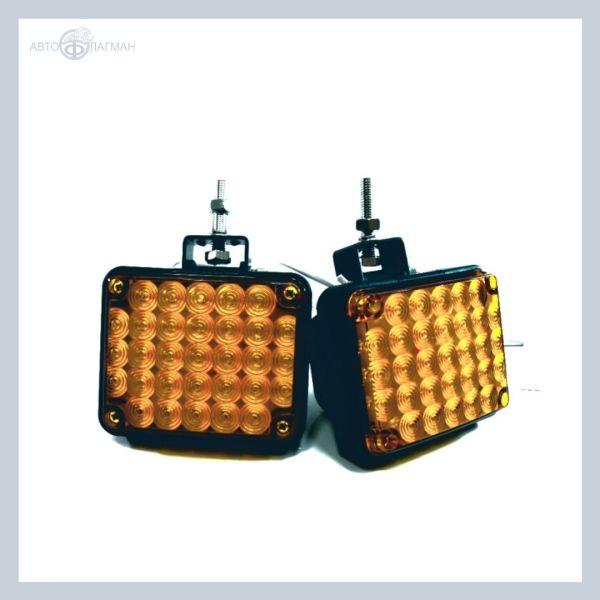 Светодиодные фары-вспышки жёлтый/жёлтый