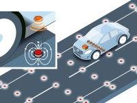 Volvo testira cestovne magnete za precizno pozicioniranje autonomnih automobila