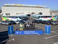 Hyundai Motor isporučio sponzorsku flotu vozila za Svjetsko nogometno prvenstvo u Brazilu