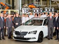 Škoda proizvela 18-milijunto vozilo