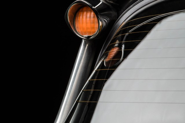 Citroën DS (DSuper5), Detailansicht Heckblinker links, Autofotograf: Stephan Hensel, Hamburg