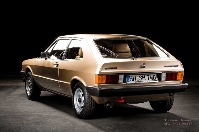 VW Scirocco GLi, Seitenansicht von links hinten, Autofotograf: Stephan Hensel, Hamburg