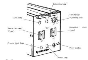 Bernina, juki, janome, elna, paff developed sewing machine