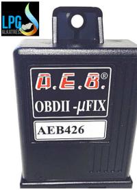AEB 726 OBD emulátor Check engine lámpa