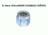D8 Hollander flexibilis csőhöz