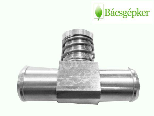 16mm/16mm egyutas gázszabályzó