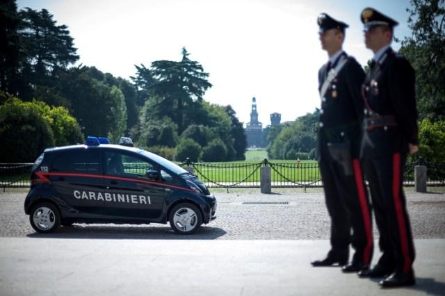 i-MiEV - Carabinieri 1