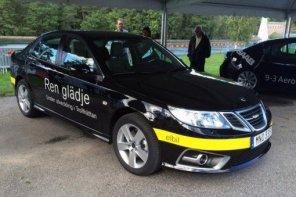 SAAB представил свой первый электромобиль